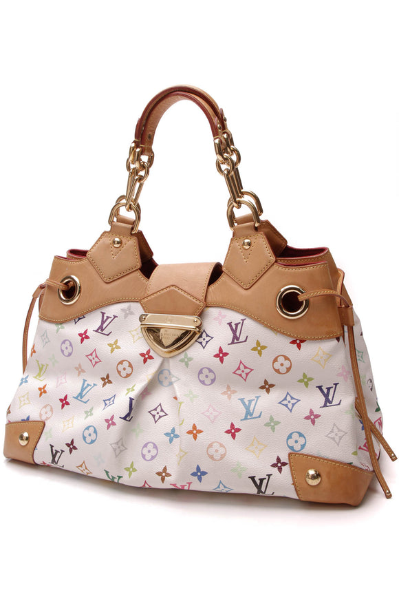 Louis Vuitton Ursula Bag White Multicolore Monogram