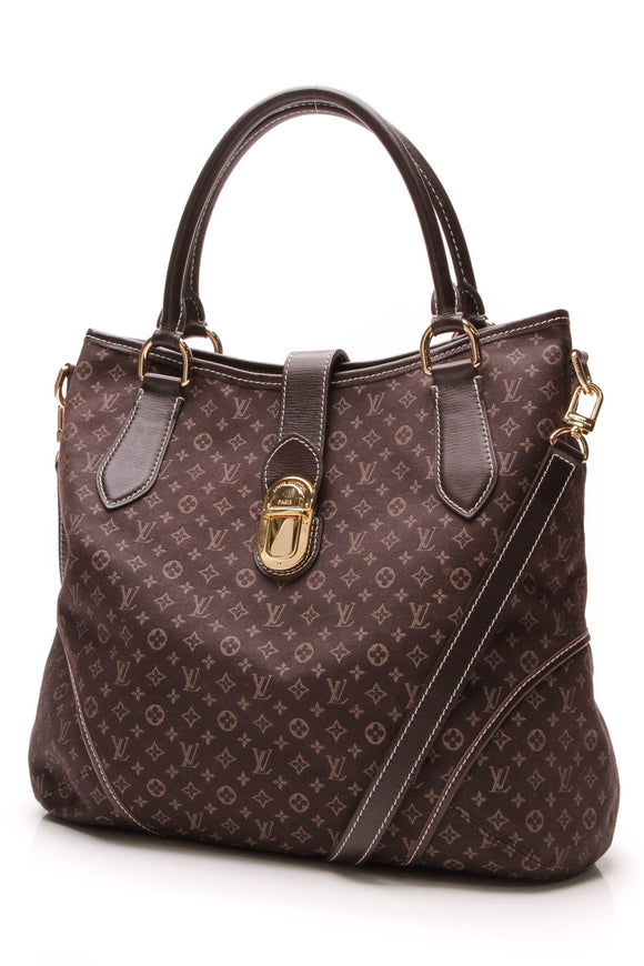 Louis Vuitton Idylle Elegie Bag Fusain Monogram Canvas Brown