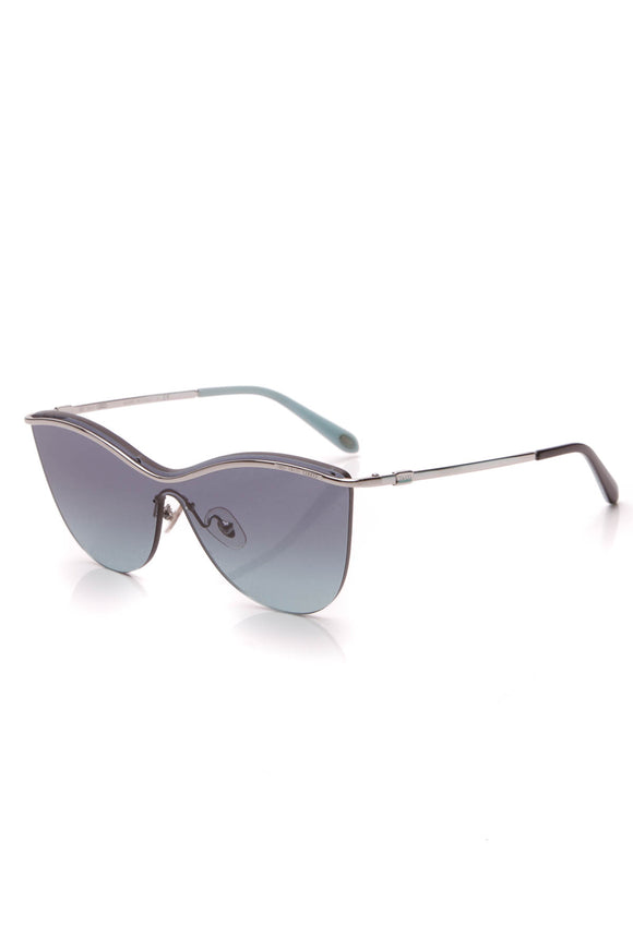 Tiffany & Co. Butterfly Rimless Sunglasses TF3058 Blue