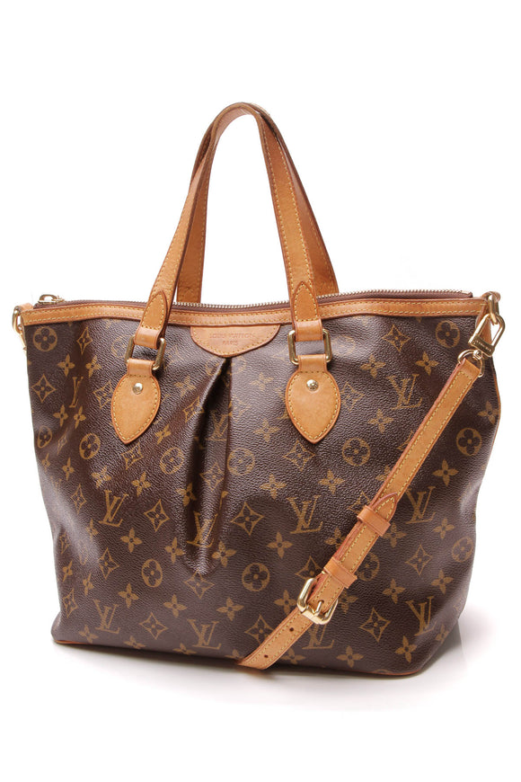 Louis Vuitton Palermo PM Bag Monogram Brown