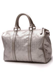 Gucci Joy Medium Boston Bag Silver Imprime