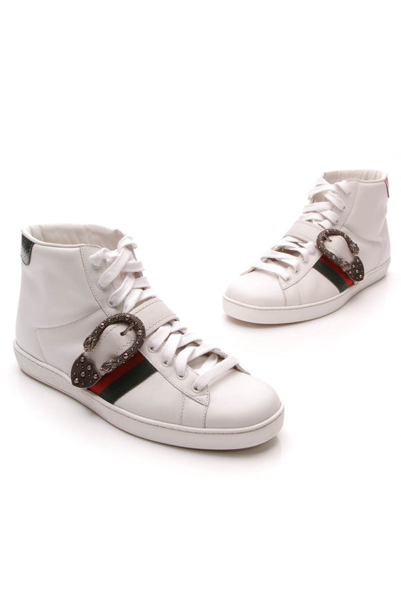 Gucci Dionysus Ace Men's Sneakers White US Size 10