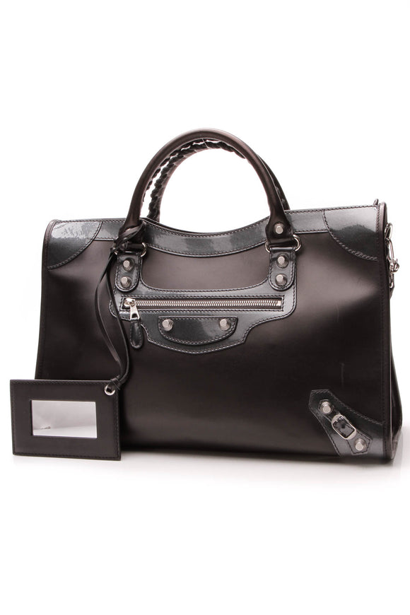 Balenciaga Giant 12 City Bag Matte Black