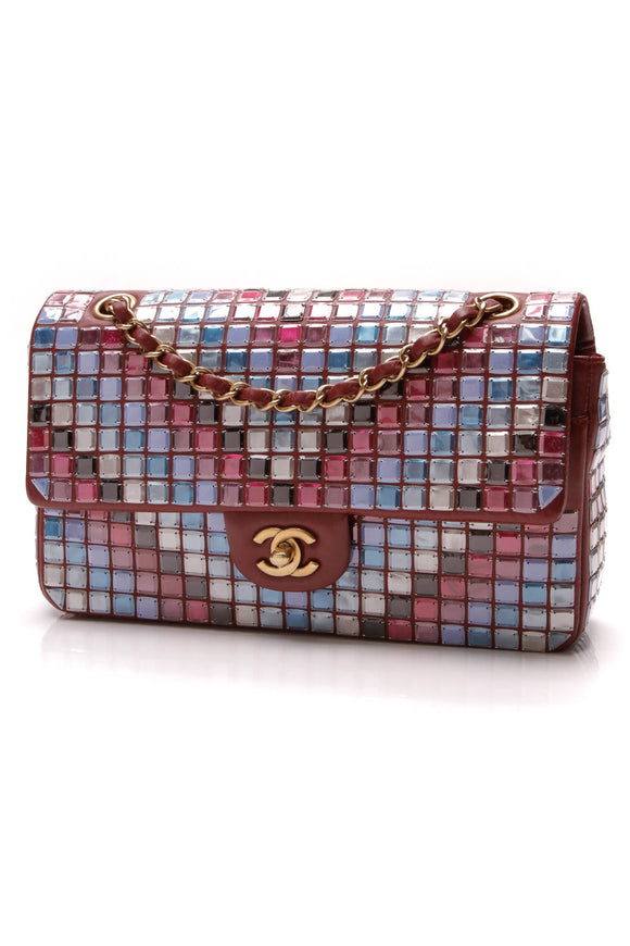 Chanel Mosaic Classic Medium Flap Bag Multicolor