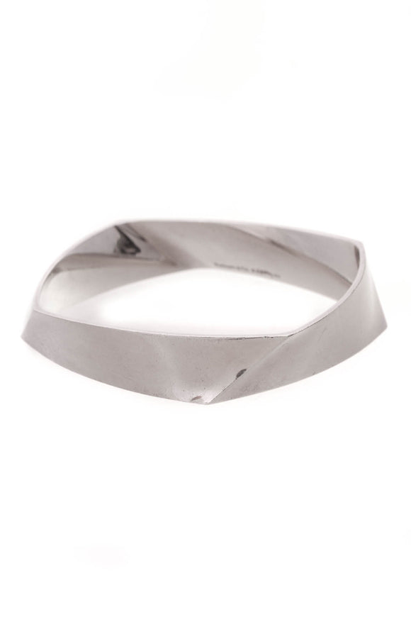 Tiffany & Co. Frank Gehry Torque Bangle Bracelet Silver