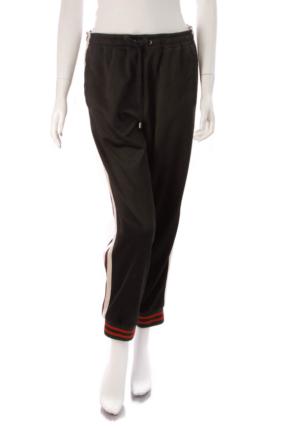 Gucci Technical Jersey Pants Black Size Medium