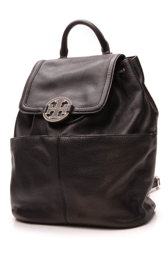 Tory Burch Amanda Medium Backpack Black