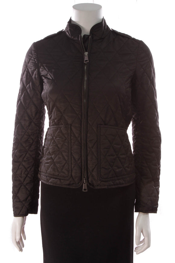 Burberry Quilted Jacket Black Size Extra Small