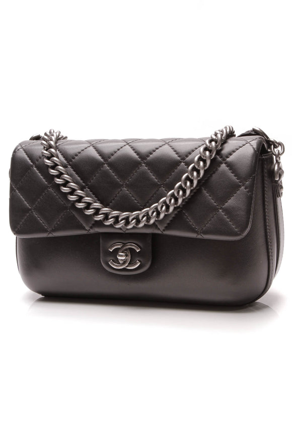 Chanel Rock My Shoulder Large Flap Bag Black