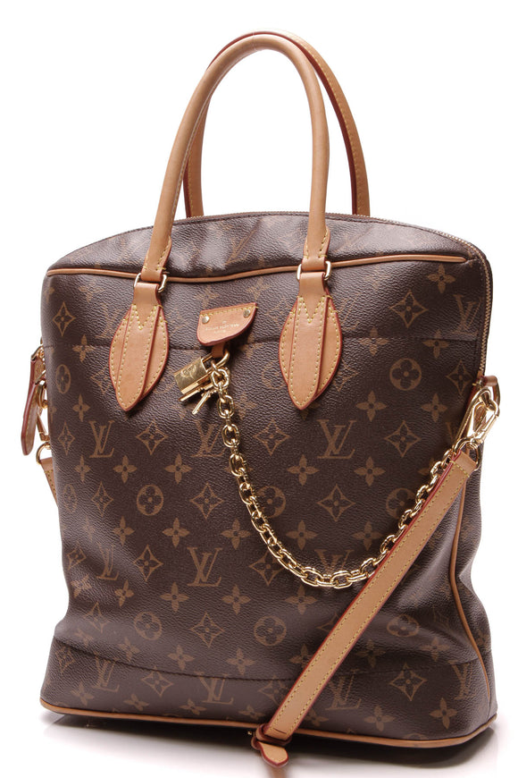 Louis Vuitton Carry All MM Bag Monogram Brown