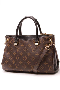 Louis Vuitton Pallas BB Bag Monogram Noir Brown Black