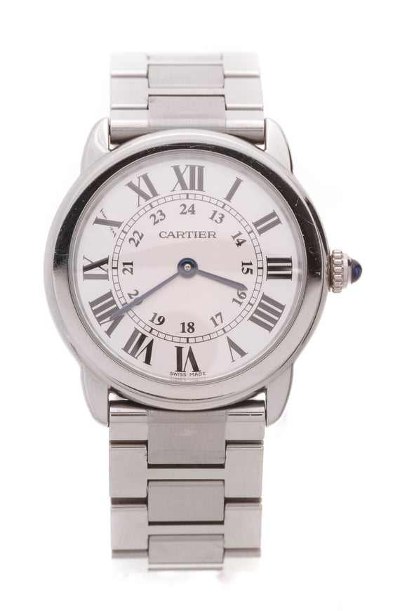 Cartier Ronde Solo De Cartier Watch Steel