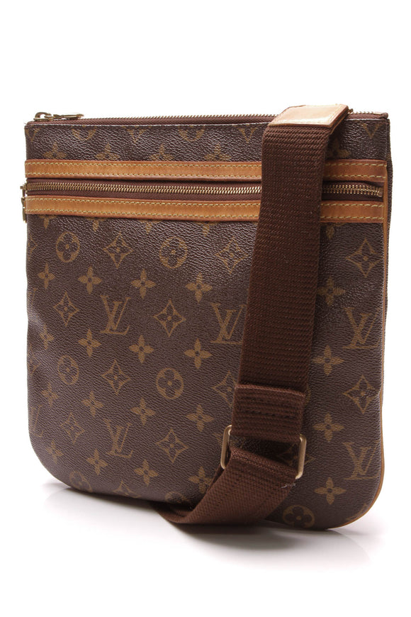 Louis Vuitton Bosphore Messenger Bag Monogram Brown