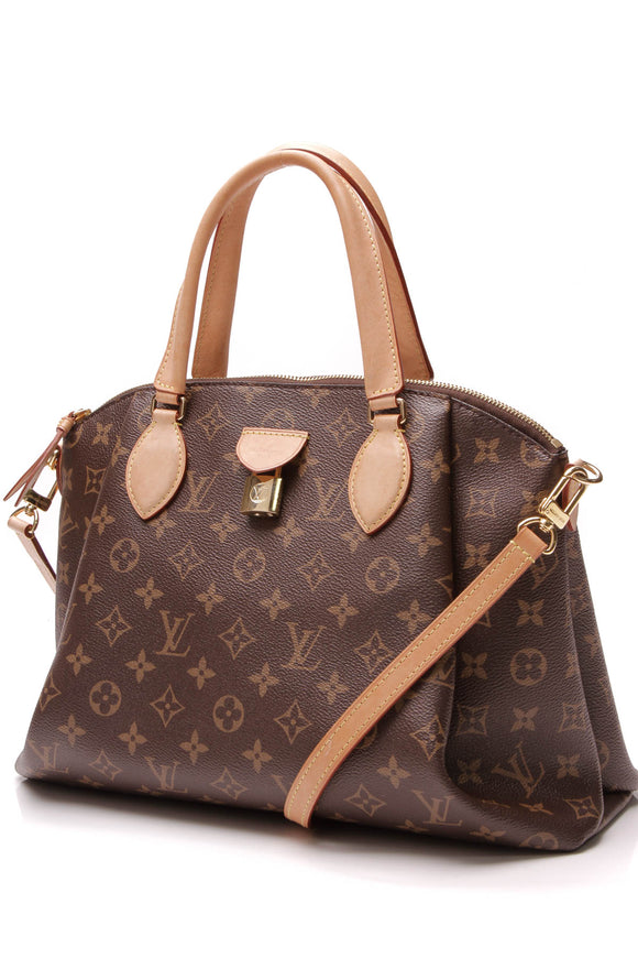 Louis Vuitton Rivoli MM Bag Monogram Brown