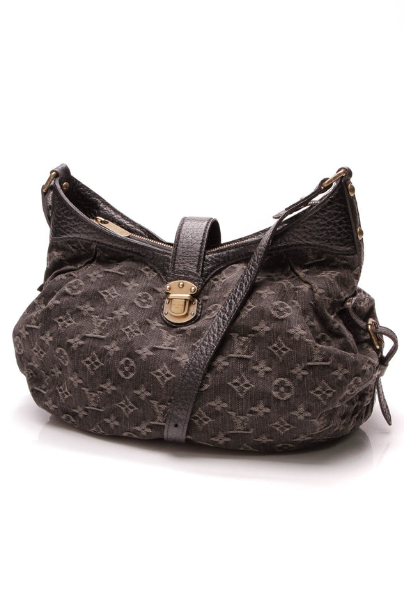 Louis Vuitton XS Bag Black Monogram Denim