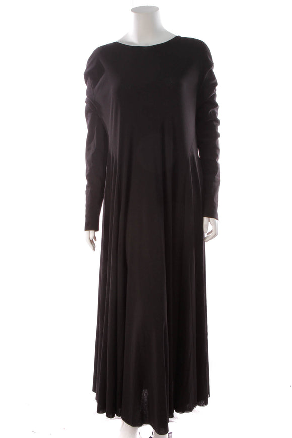 Jil Sander Long Dress Black Size 42