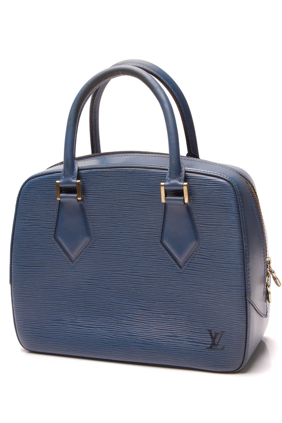 Louis Vuitton Vintage Epi Pont Neuf PM Bag Blue
