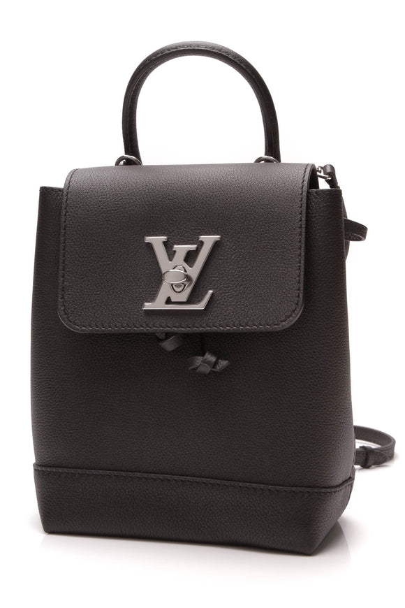 Louis Vuitton Lockme Mini Backpack Noir Black