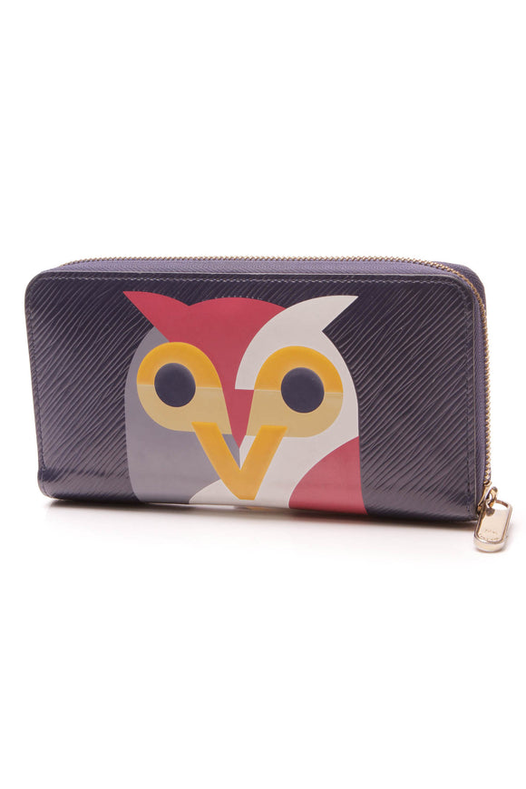 Louis Vuitton Epi Night Bird Zippy Wallet Iris