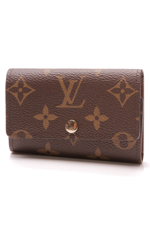 Louis Vuitton 6 Key Holder Monogram Brown