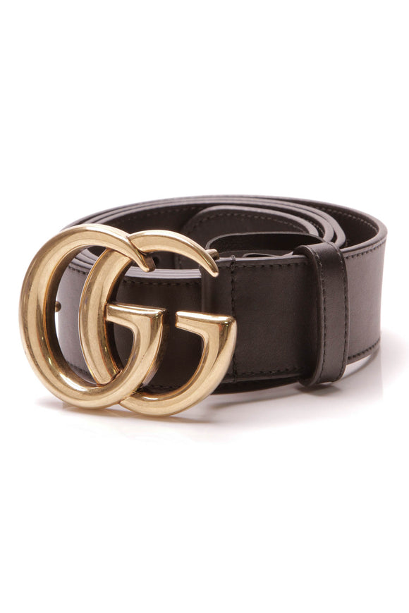 Gucci Marmont Belt Black Size 36