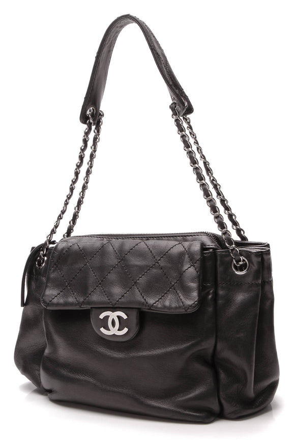 Chanel Ultimate Soft Accordion Bag Black