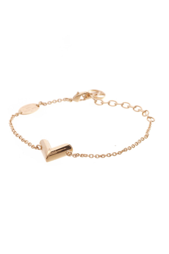 Louis Vuitton Essential V Bracelet Gold