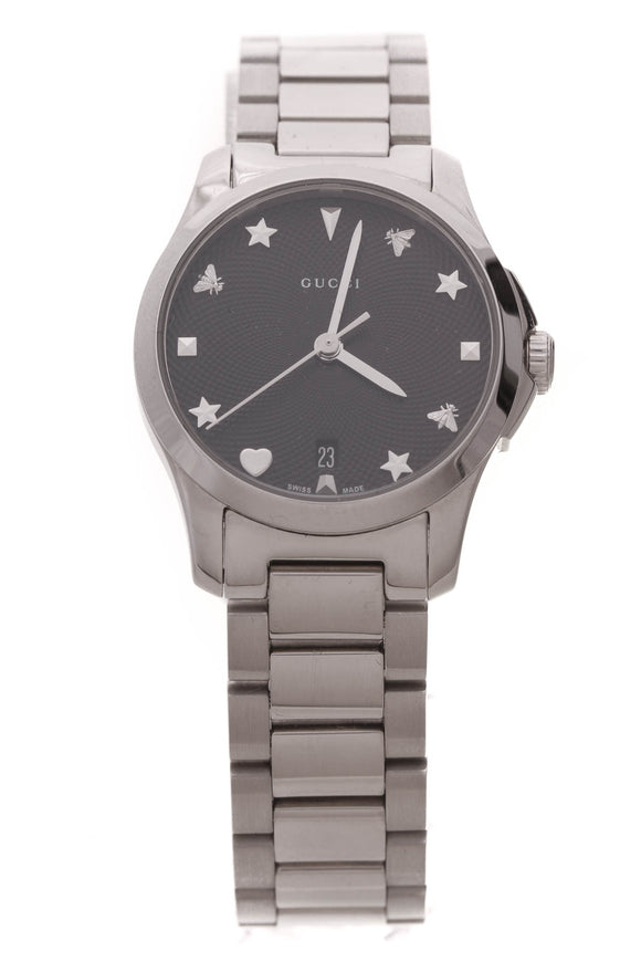 Gucci G-Timeless 27mm Watch Steel