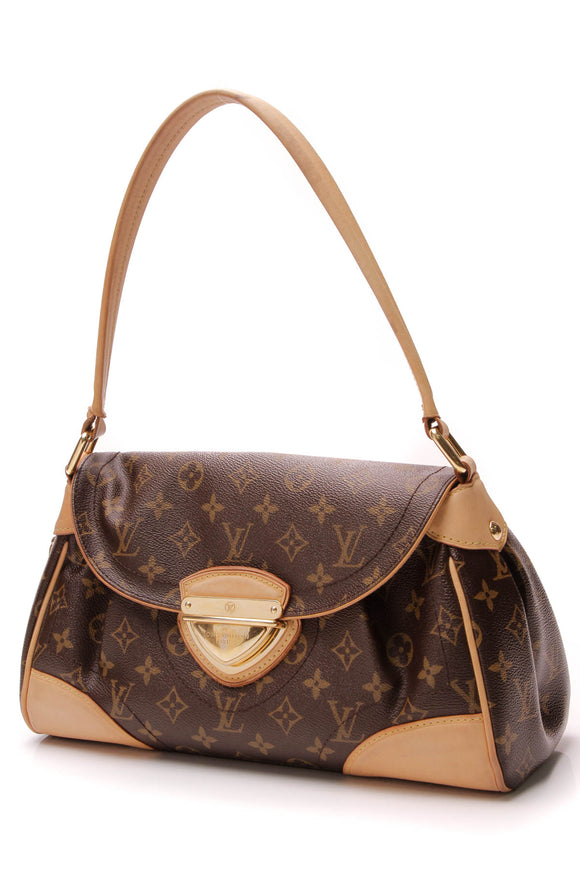 Louis Vuitton Beverly MM Bag Monogram Canvas Brown