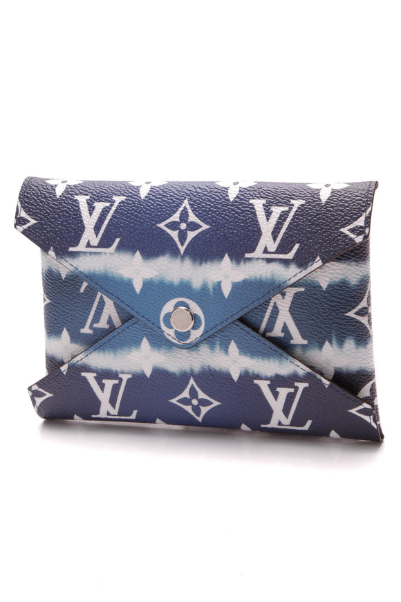 Louis Vuitton Escale Kirigami Medium Pochette Blue