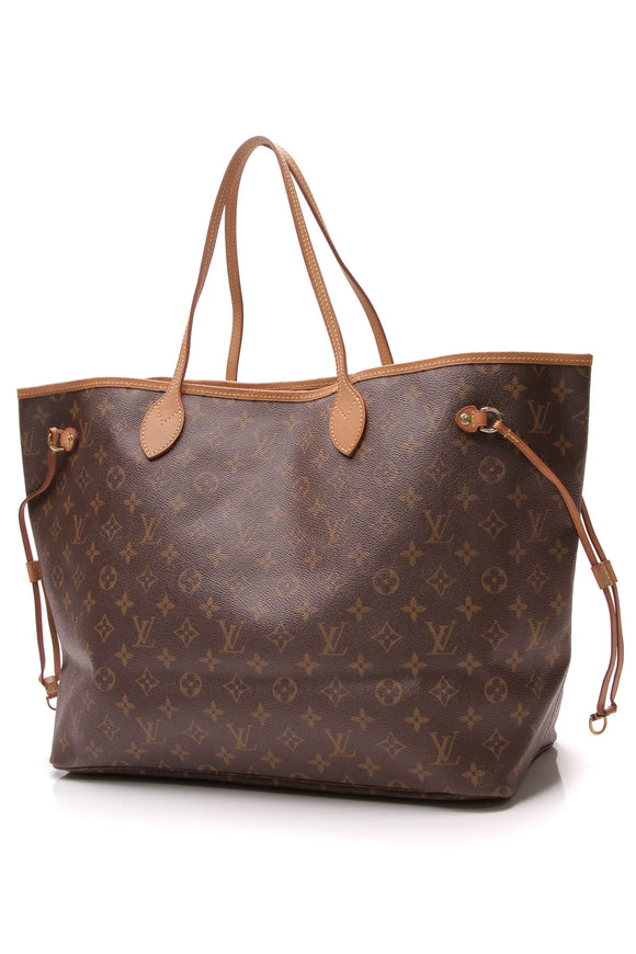 Louis Vuitton Neverfull GM tote bag monogram canvas brown