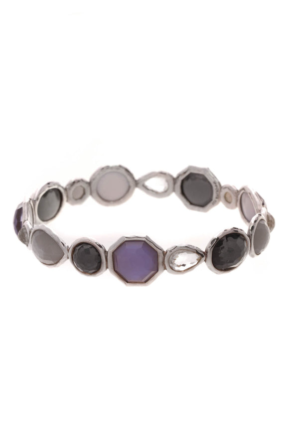 Ippolita All Around Rock Candy Bangle Bracelet Silver