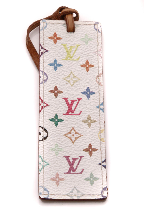 Louis Vuitton VIP Bookmark White Multicolore Monogram