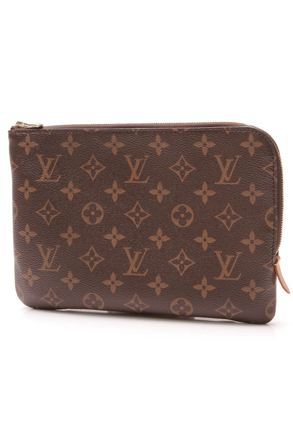 Louis Vuitton Etui Voyage PM Pouch Monogram Brown