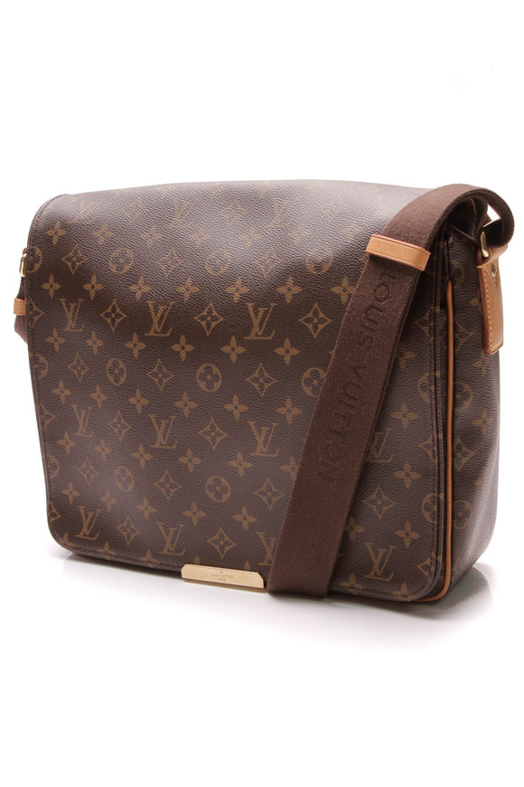 Louis Vuitton Valmy MM Bag Monogram Brown