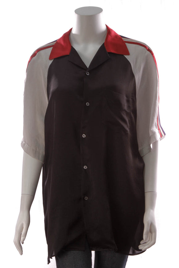 Gucci Bowling Men's Shirt Black Size 52