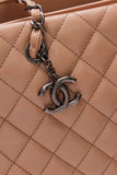 Chanel City Large Shopping Tote Bag Nude Caviar