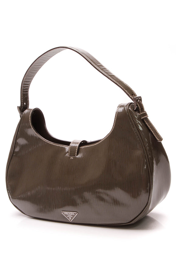 Prada Vernice Old Shoulder Bag Femo