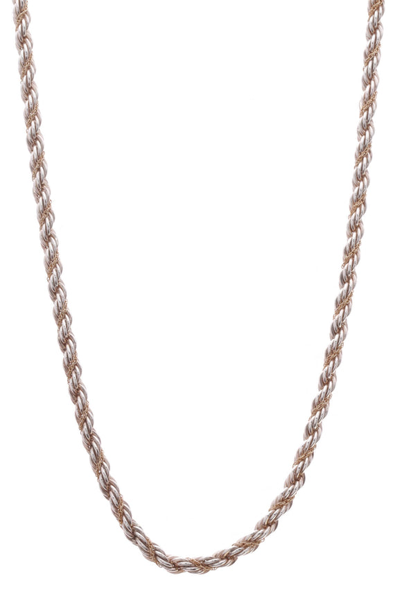 Tiffany & Co. Twisted Rope Chain 18