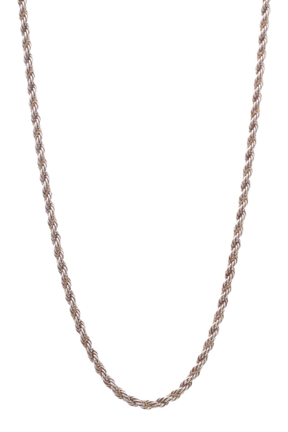 Tiffany & Co. Twisted Rope Chain 24