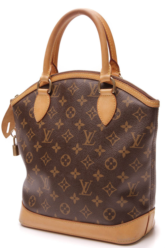 Louis Vuitton Lockit PM Bag Monogram Brown