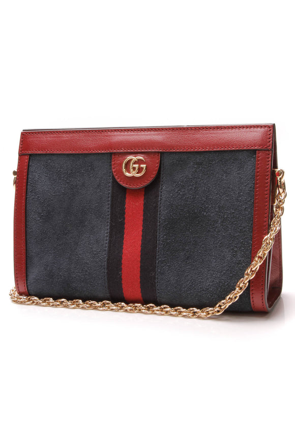 Gucci Ophidia Small Chain Bag Blue