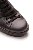 Gucci GG Apple Ace Men's Sneakers Black US Size 9.5