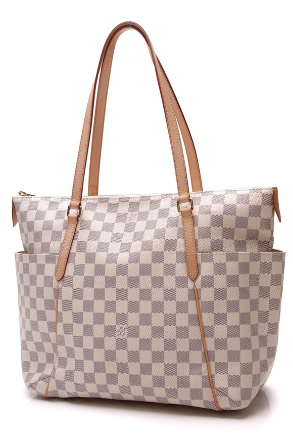 Louis Vuitton Totally MM Bag Damier Azur