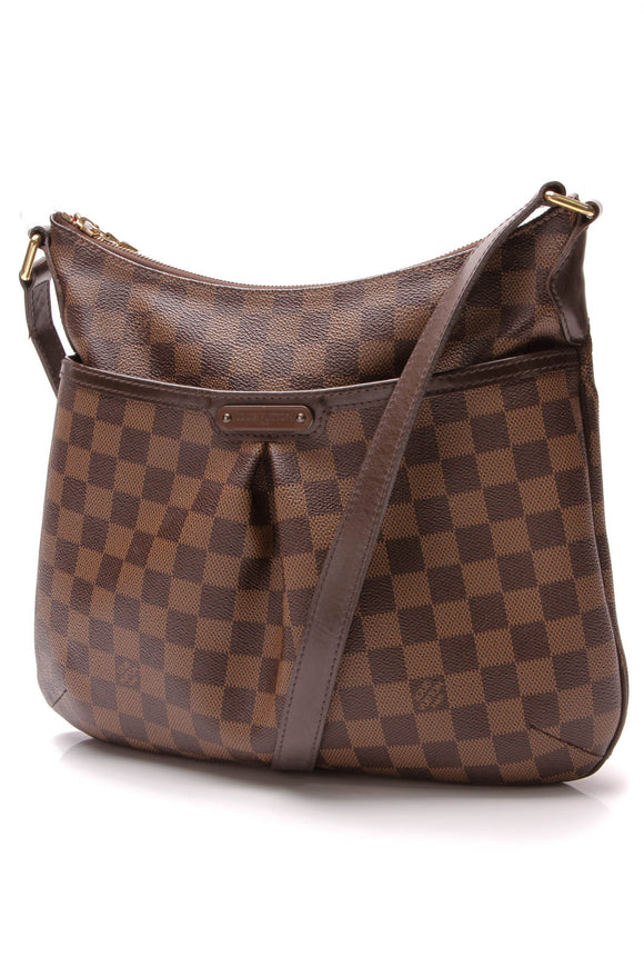 Louis Vuitton Bloomsbury PM Crossbody  Bag Damier Ebene Brown