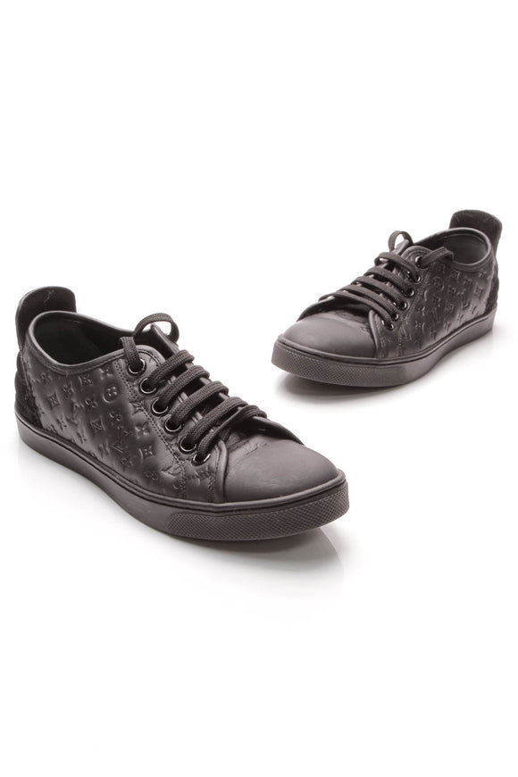 Louis Vuitton Empreinte Stellar Low Top Sneakers Black Size 34.5
