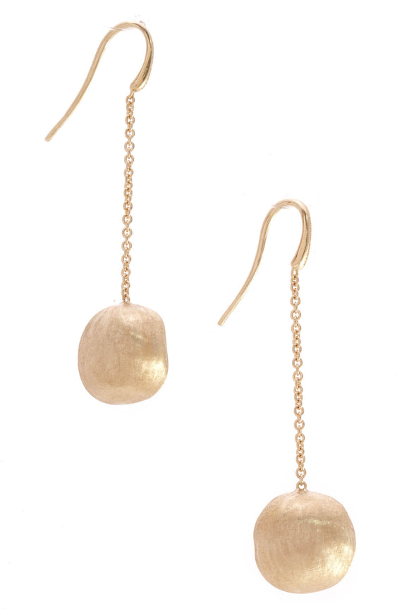 Marco Bicego Round Drop Earrings Gold