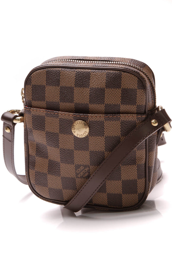 Louis Vuitton Rift Bag Damier Ebene Brown