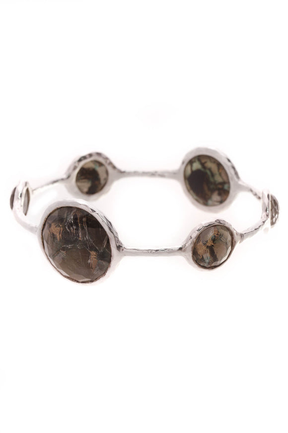 Ippolita Wonderland Lollipop Bangle Bracelet Silver