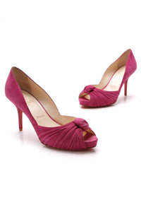Christian Louboutin Greissimo Pumps Suede Purple